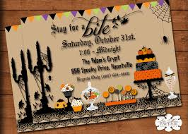 100 halloween invites back from the grave and ready to