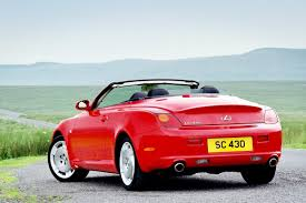 lexus convertible sc430 ferrari california replica with real folding hardtop is based on