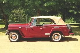 1949 willys jeepster the 1949 willys overland jeepster heacock classic insurance