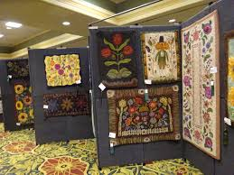 Cleveland Browns Rug Rug Hookers Show Off Their Craft At Biennial Fiber Art Exhibit