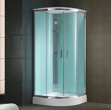 glass shower cubicle circular with sliding door k 503mn