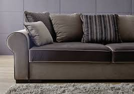 sofa mit bettkasten und schlaffunktion sofa mit schlaffunktion u bettkasten 256x106x74 braun deluxe comfort