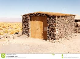 Atacama Desert Map Small House In Atacama Desert Stock Photo Image 59556085