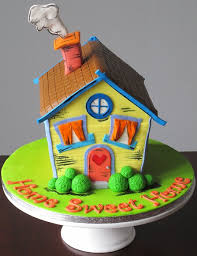 Home Cake Decorating Supply A Colourful House Warming Cake For New Home Owners Cakes U0026 Cake