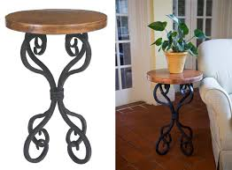 Iron Accent Table Stunning Iron Accent Table Classic Corner Tables Decorating Tips