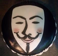 V For Vendetta Mask 13 Best V For Vendetta Cakes Images On Pinterest Vendetta Mask
