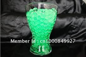 Vase Fillers Balls Glassware Vase Filler Using Clear Crystal Water Beads For Cut