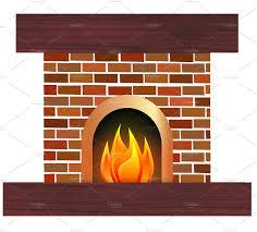 fireplace illustration illustrations creative market