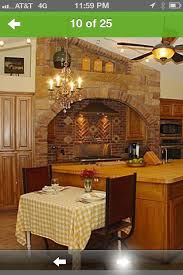 How Do I Design A Kitchen How Do I Modernize A Brick Stone Feature In A Kitchen All Around A St
