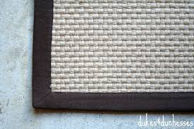 Basketweave Rug A Diy Painted Rug Dukes And Duchesses