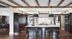 two fully functional kitchens sit back to back in this expansive