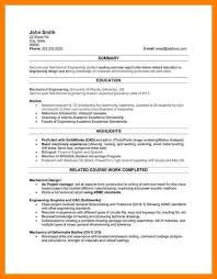 resume for manufacturing 7 sample resume for engineering student lpn resume