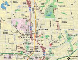 Atlanta Airport Parking Map by A New Map For America The New York Times Atlanta Wikipedia