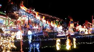 Christmas Lights House by Beautiful Christmas Decorated House Lots Of Lights Youtube