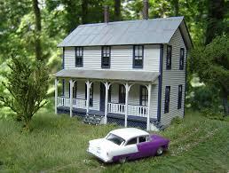 two story farmhouse two story farmhouse model railroad hobbyist magazine