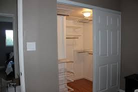 how to organize a closet with sliding doors home design ideas