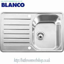 Stainless Steel Kitchen Sinks BLANCO Lantos SIF Compact - Compact kitchen sinks stainless steel
