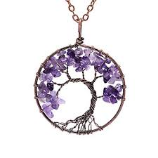 necklace with purple stone images Purple stone necklace jpg