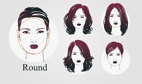 face shape hairstyle haircuts according to face shape how to choose haircuts for round