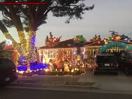 Best Way To Hang Christmas Lights by Best Christmas Lights And Holiday Displays In Sunnyvale Santa