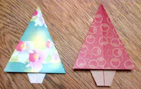easy origami tree folding how to make an
