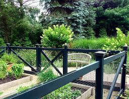 amazing phoenix fence contractors with black vegetable garden