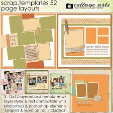 element layout template is not supported scrap templates 52 page layouts