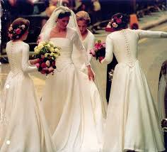 lord and dresses for weddings armstrong jones bring back the sleeves