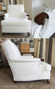 8 best susan u0027s white canvas slipcovers images on pinterest chair