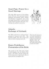 hindu wedding program feynman style hindu wedding program offbeat