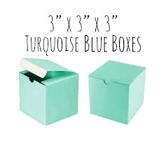 robin egg blue gift boxes robin s egg blue 3 x 3 x 3 boxes 100 pack of