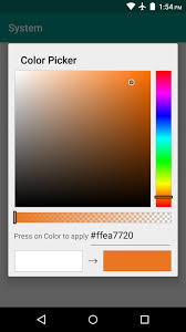 android color picker how to theme android lollipop with custom colors nexus gadget