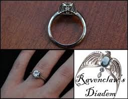 harry potter inspired engagement ring a gorgeous and subtle harry potter ravenclaw ring wedding