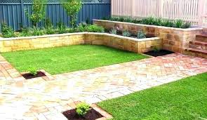 Backyard Retaining Wall Ideas Garden Block Wall Ideas Garden Block Wall Design Ideas Garden Wall