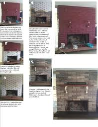 products to clean brick fireplace whitewash fireplaces makeover