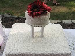 informal wedding reception cakecentral com