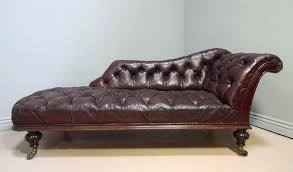 Chaise Lounge Leather Sofa Antique Leather Sofa Adrop Me