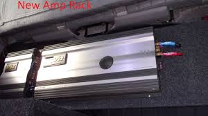 Audio Rack Plans Building Amp Rack With Scraps Cleaning Up Wires Mounting New Amp