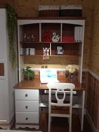 Children S Computer Desk House Childrens Mediterranean American Wood Desk Bookcase