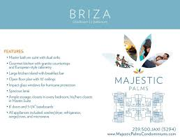 floor plans briza fort myers fl majestic palms
