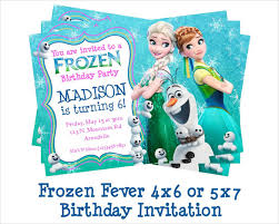 26 frozen birthday invitation templates u2013 free sample example
