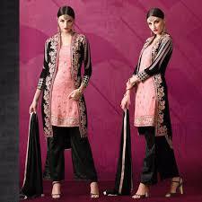 design of jacket suit ladies suits ladies black and pink straight jacket suit wholesaler