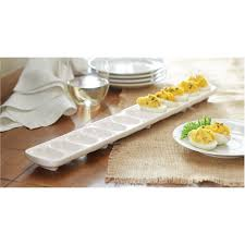 deviled egg tray with cover mud pie circa 2 deviled egg tray set reviews wayfair