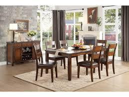 Homelegance Dining Room Furniture Homelegance Dining Room Dining Table Mango Veneer 5547 78