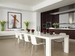 Dining Room Table Vases Fascinating Kitchen And Dining Room Ideas With White Dining Table