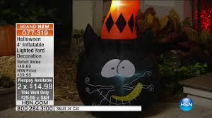 hsn home decor hsn halloween decor 09 20 2016 11 am youtube