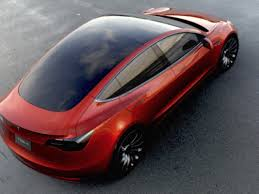 Entry3 by Buyers Of Tesla U0027s Entry Level Model 3 Car Face Long Wait