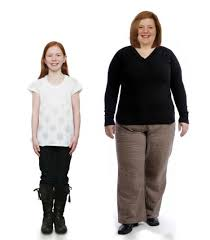 pictured how a healthy 10 year would turn into an obese