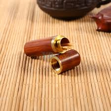 pocket toothpick holder rosewood wooden toothpick holder case box capsule portable craft