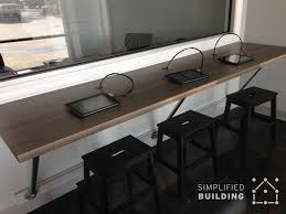 Desk Wall System Wall Mounted Desks Great For Small Spaces Simplified Building
